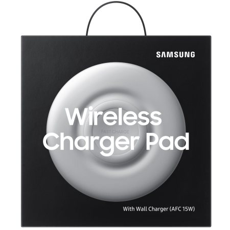 Official Samsung Galaxy Fast Wireless Charger - White