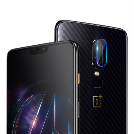 Olixar OnePlus 6 Camera Protector - Twin Pack