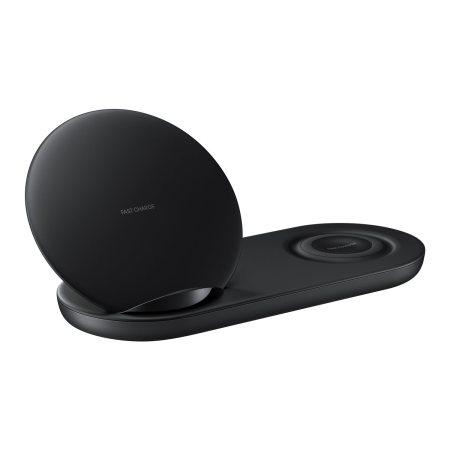 Official Samsung Galaxy Super Fast Wireless Charger Duo - Black