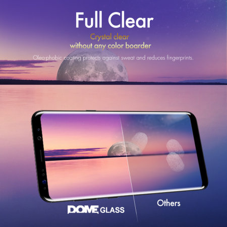 Whitestone Dome Glass Samsung Galaxy S9 Screen Protector - 2 Pack