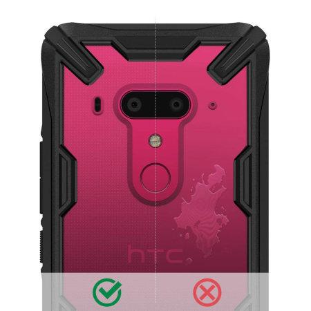 Ringke Fusion X HTC U12 Plus Case - Black