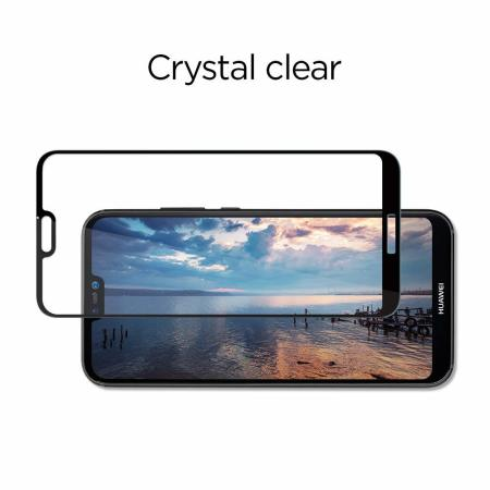 Spigen GLAS.tR Slim Huawei P20 Lite Tempered Glass Screen Protector