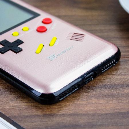 f758cbfbe07 Funda iPhone 6 Plus SuperSpot Retro Game - Oro Rosa