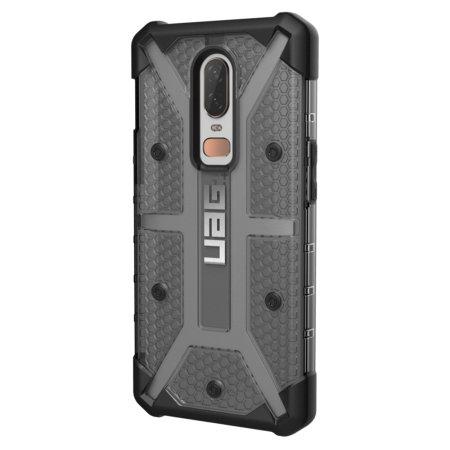 best service c9e76 a5f42 UAG Plasma OnePlus 6 Protective Case - Ash