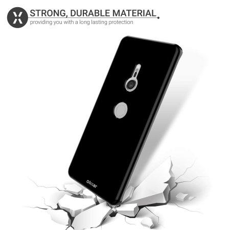 Olixar FlexiShield Sony Xperia XZ3 Gel Case - Solid Black