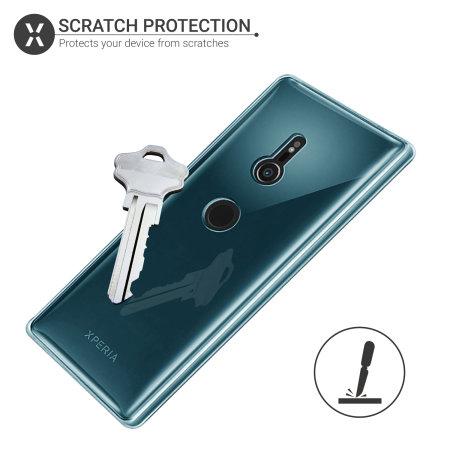 Funda Sony Xperia XZ3 Olixar FlexiShield Gel - Azul
