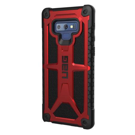 UAG Monarch Premium Samsung Galaxy Note 9 Protective Case - Crimson