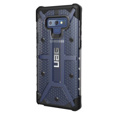 UAG Plasma Samsung Galaxy Note 9 Protective Case - Ice / Black