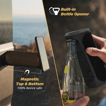 Scosche BoomBOTTLE MM Bluetooth Speaker with MagicMount - Black