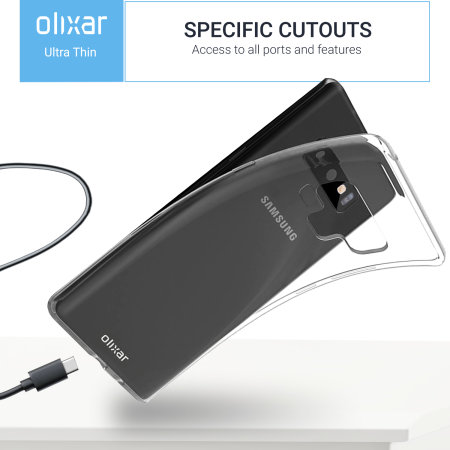 Samsung Galaxy Note 9 Slim Clear Case - Olixar UltraThin