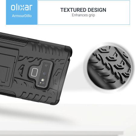 Samsung Galaxy Note 9 Protective Case Olixar ArmourDillo - Black