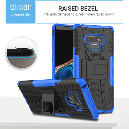 Samsung Note 9 Protective Case Olixar ArmourDillo - Blue