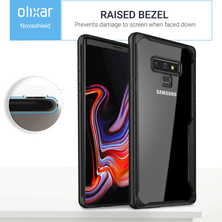 Olixar NovaShield Samsung Galaxy Note 9 Case - Zwart