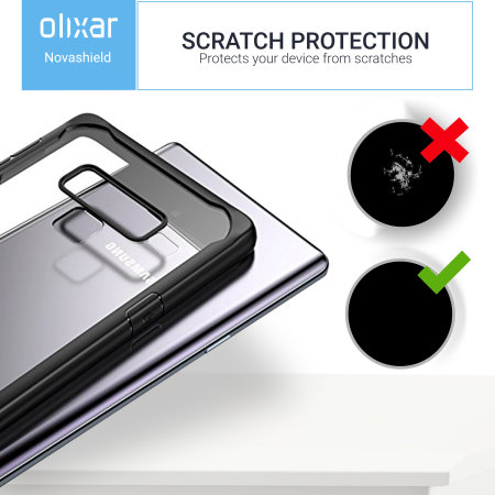 Samsung Galaxy Note 9 Bumper Case Olixar NovaShield - Black