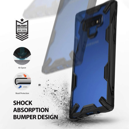Ringke Fusion X Samsung Galaxy Note 9 Tough Case - Black