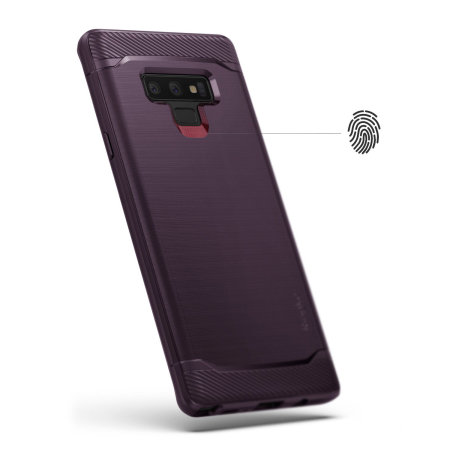 Ringke Onyx Samsung Galaxy Note 9 Tough Case - Lilac Purple