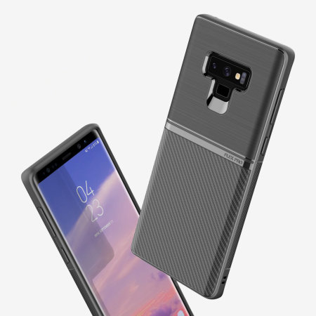 Obliq Flex Pro Samsung Galaxy Note 9 Case - Carbon Black