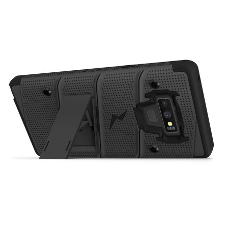 Zizo Bolt Samsung Galaxy Note 9 Tough Case & Screen Protector - Black
