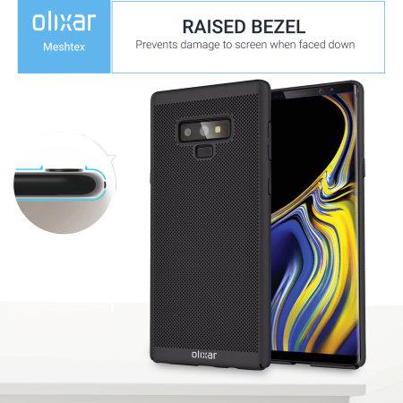 Olixar MeshTex Samsung Galaxy Note 9 Slim Case - Tactical Black