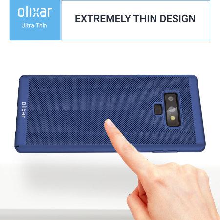 new concept 7c8ad b527c Olixar MeshTex Samsung Galaxy Note 9 Slim Case - Ocean Blue