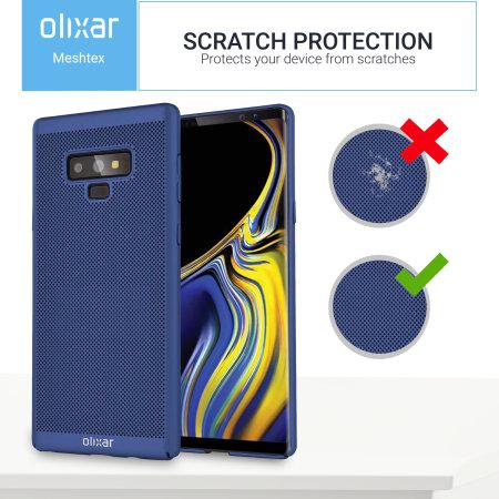 Olixar MeshTex Samsung Galaxy Note 9 Slim Case - Ocean Blue