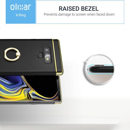 Samsung Note 9 Finger Loop Case Olixar XRing - Black