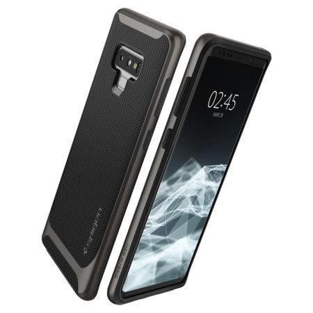 official photos 7bde5 9af9c Spigen Neo Hybrid Samsung Galaxy Note 9 Case - Gunmetal