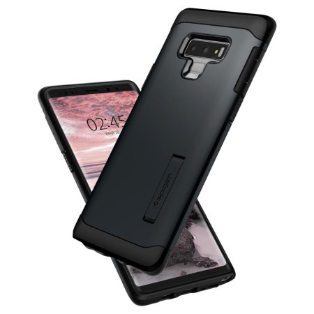 half off 7c34e f9beb Spigen Slim Armor Samsung Galaxy Note 9 Tough Case - Metal Slate