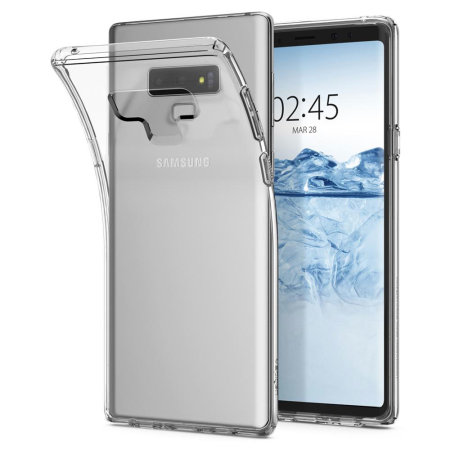 buy online f8282 5f4e1 Spigen Liquid Crystal Samsung Galaxy Note 9 Case - Clear