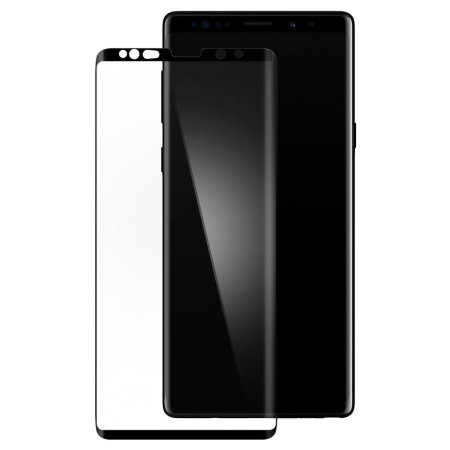 separation shoes 0901c 2cf96 Spigen Samsung Galaxy Note 9 Curved Tempered Glass Screen Protector