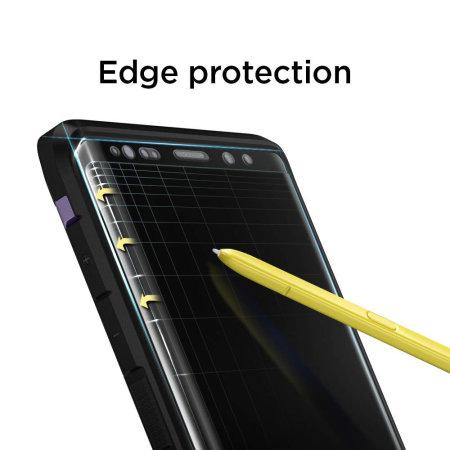 Protector Pantalla Samsung Galaxy Note 9 Spigen Cristal Templado Curvo