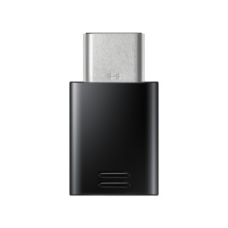 Official Samsung Galaxy Note 9 Micro USB to USB-C Adapter - Black