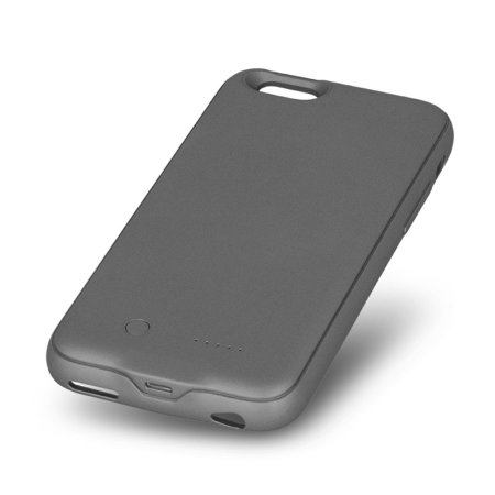 forever 3000mah iphone 6/6s battery case with micro sd reader - black