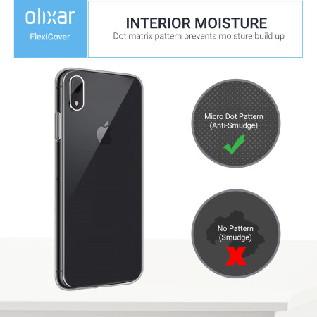 Olixar FlexiCover Complete Protection iPhone XR Gel Hülle