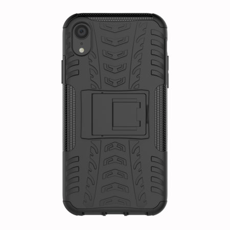 Olixar ArmourDillo iPhone XR Protective Case - Black