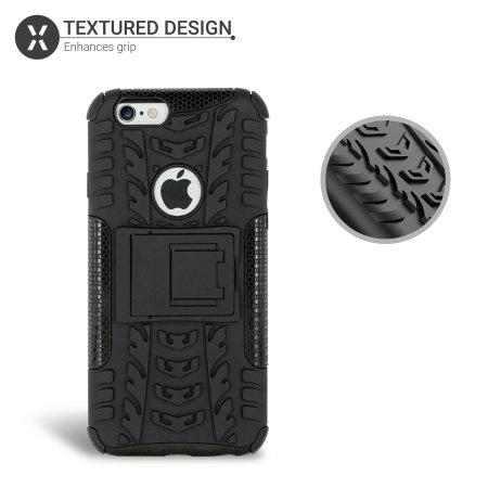 Olixar ArmourDillo iPhone 6S / 6 Protective Case - Black