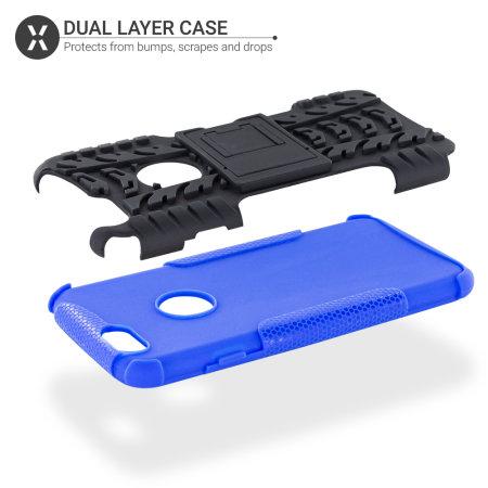 Coque iPhone 6S / 6 Olixar ArmourDillo – Coque ultra-robuste – Bleu