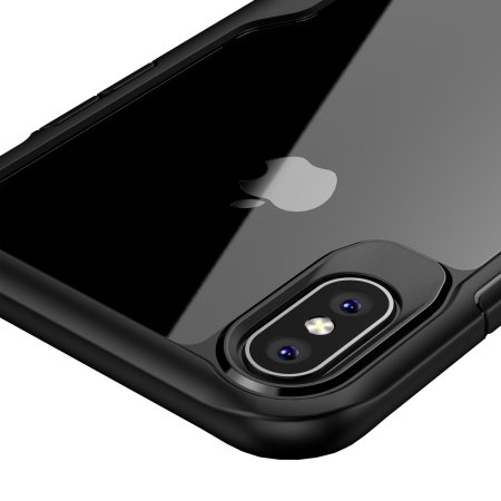 Olixar NovaShield iPhone XS Max Case - Zwart