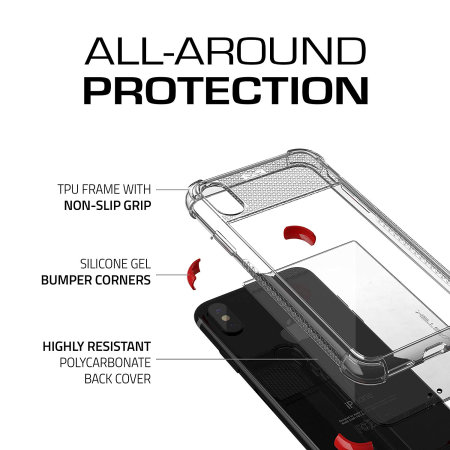 Ghostek Covert 2 iPhone XS Case - Red