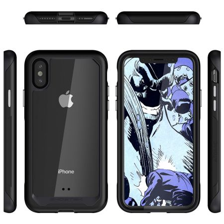 Ghostek Atomic Slim 2 iPhone XS Max Tough Case - Black