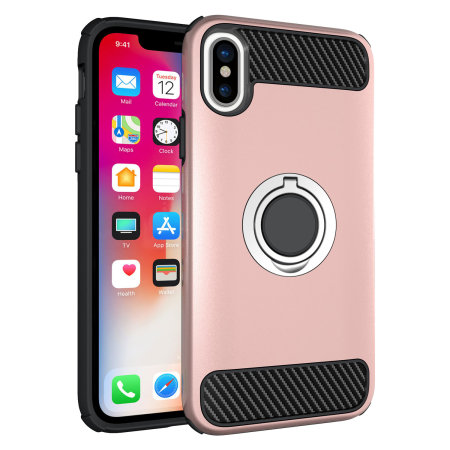 rose gold iphone xs case