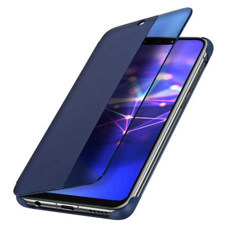 promo code 85e1c e603d Official Huawei Mate 20 Lite Smart View Flip Case - Blue
