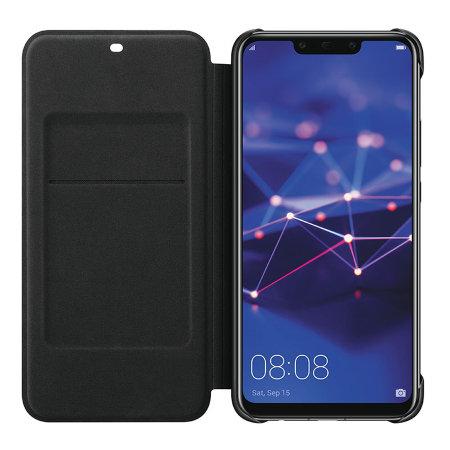 negozio online 38219 c653a Official Huawei Mate 20 Lite Wallet Cover Case - Black