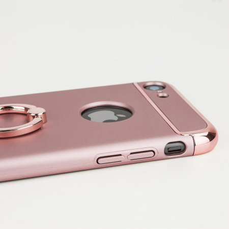 olixar xring iphone 6s / 6 finger loop case - rose gold