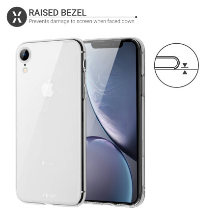 Funda iPhone XR Olixar Ultra-Thin Gel - Transparente