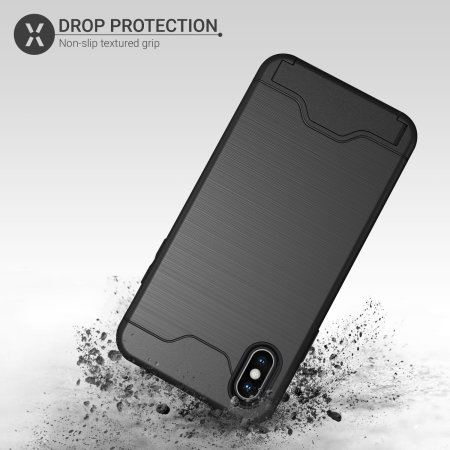 Olixar X-Ranger iPhone XS Max Survival Case - Taktisches Schwarz