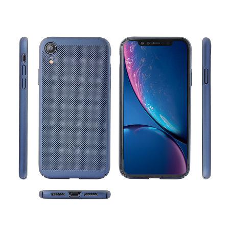 Olixar MeshTex iPhone  XR Case - Blue