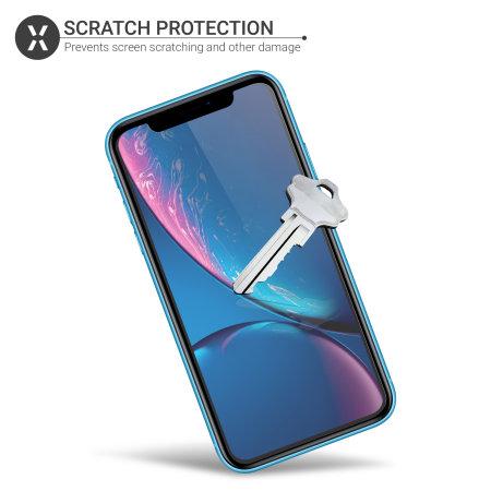 Olixar iPhone XR Film Screen Protector 2 pak