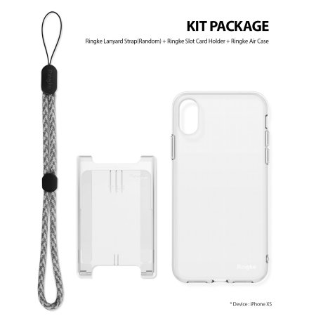 Ringke Air 3-in-1 iPhone XS Kit Case - Clear