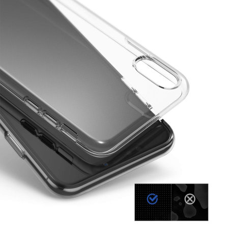 Ringke Air 3-in-1 iPhone XS Max Kit Case - Clear